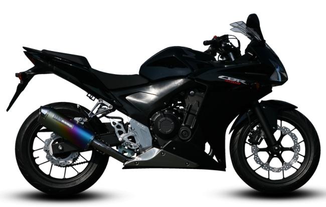 MORIWAKI ENGINEERING モリワキエンジニアリング フルエキゾーストマフラー MX タイプ:ANO(アノダイズド) 400X CB400F (2013-) CBR400R