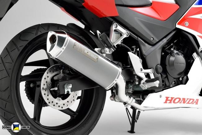 MORIWAKI ENGINEERING モリワキエンジニアリング フルエキゾーストマフラー MX タイプ:BP(ブラックパール) CB250F CBR250R (2011-)