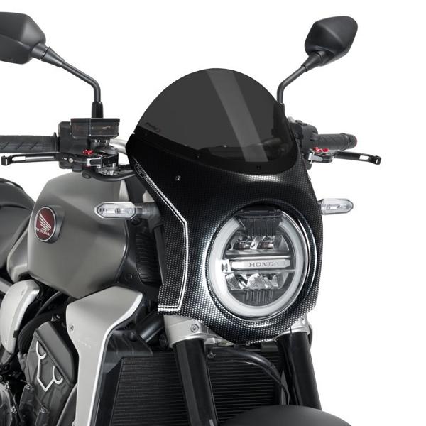 Puig プーチ ビキニカウル・バイザー レトロフェアリング カラー:ダークスモーク CB1000R (2018-) CB650R