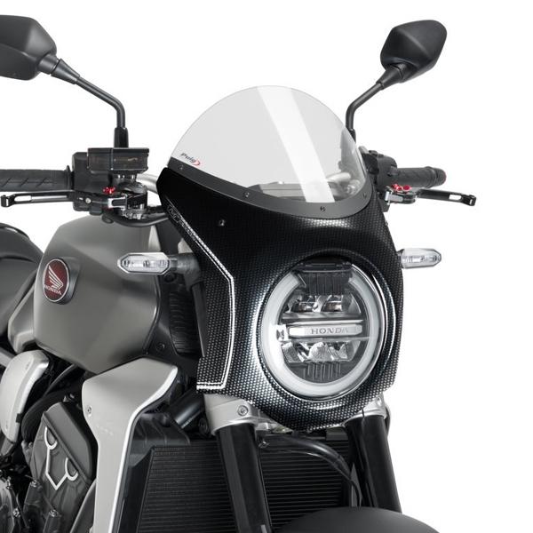 Puig プーチ ビキニカウル・バイザー レトロフェアリング カラー:クリア CB1000R (2018-) CB650R