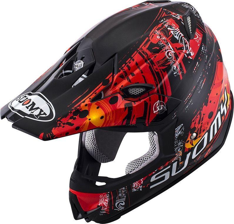 SUOMY スオーミー オフロードヘルメット MR.JUMP MAORI ヘルメット サイズ:M