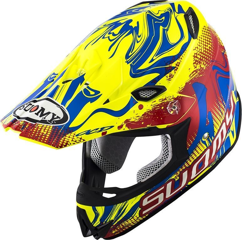 SUOMY スオーミー オフロードヘルメット MR.JUMP GRAFFITI RY ヘルメット サイズ:XL