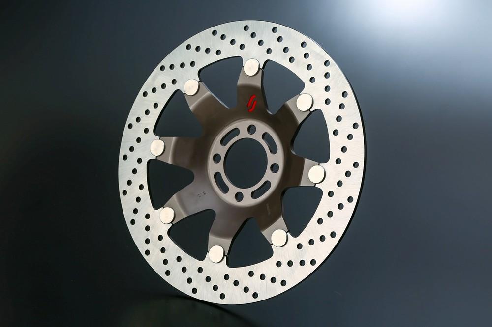 SUNSTAR サンスター NEO CLASSIC [ネオクラシック] フロントディスクローター インナーローターカラー:アビエーションブラウン ホールタイプ 左用