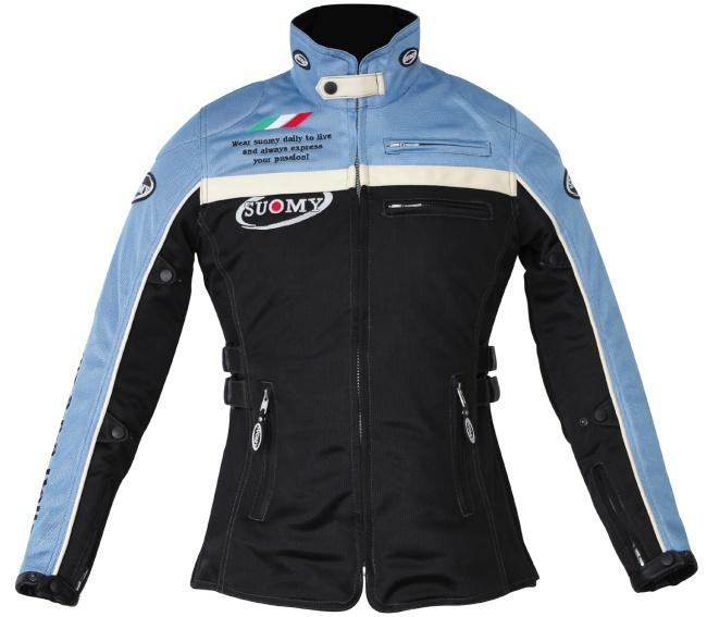 SUOMY スオーミー メッシュジャケット アルテシアメッシュショートコート サイズ:S