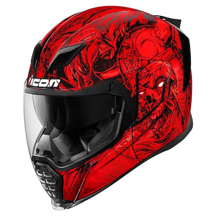 ICON アイコン フルフェイスヘルメット AIRFLITE KROM HELMET[エアフライト クロム ヘルメット] サイズ:XL(61-62cm)