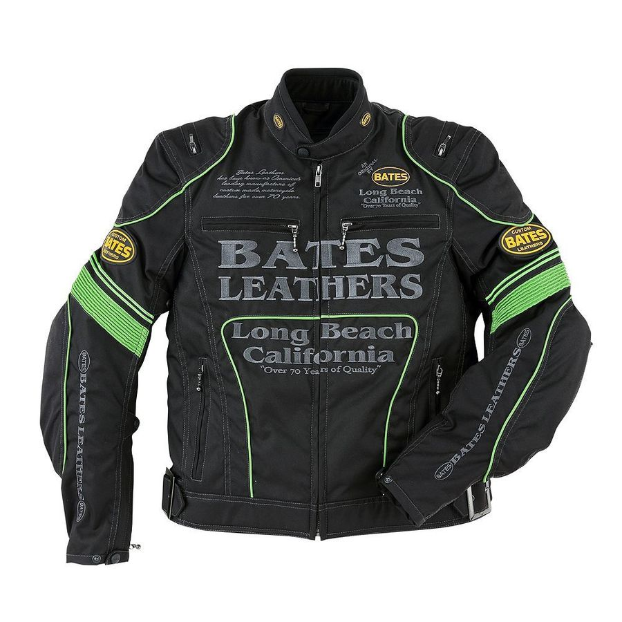 【送料無料】ジャケット BATES ベイツ BJ-NA1851RS  BATES ベイツ 3シーズンジャケット ナイロンジャケット サイズ:M
