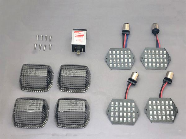 CF POSH CF ポッシュ ウインカー LED カスタマイジングキット シーケンシャルタイプ レンズカラー:スモーク GPZ900R