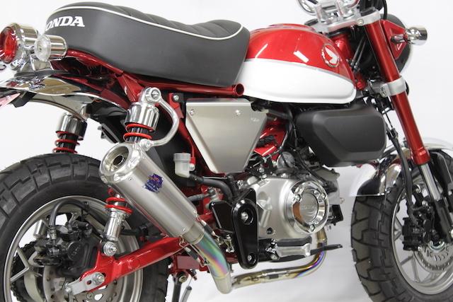 TSR テクニカルスポーツレーシング フルエキゾーストマフラー モンキー125