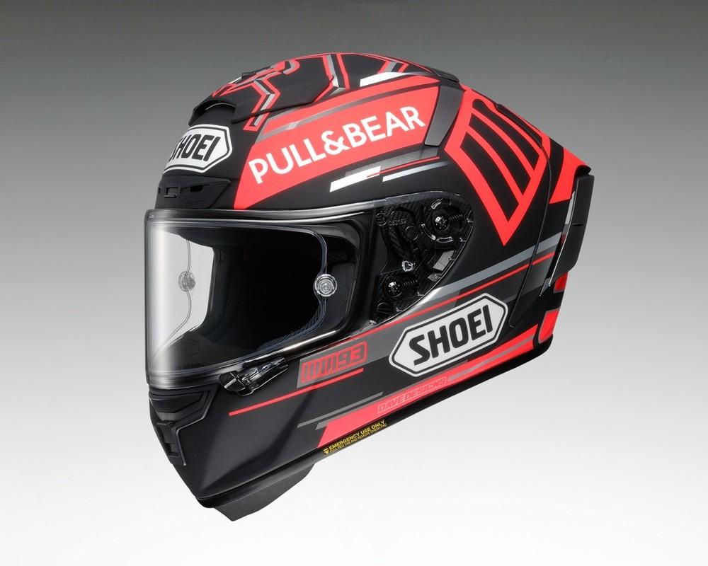 【在庫あり】ショウエイ フルフェイスヘルメット X-14 MARQUEZ BLACK CONCEPT [X-FOURTEEN エックス-フォーティーン マルケス ブラック コンセプト TC-1 RED/BLACK] ヘルメット サイズ:S (55-56cm)