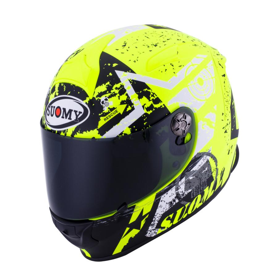 SUOMY スオーミー フルフェイスヘルメット SR-SPORT スターズ ヘルメット サイズ:S(55-56cm)