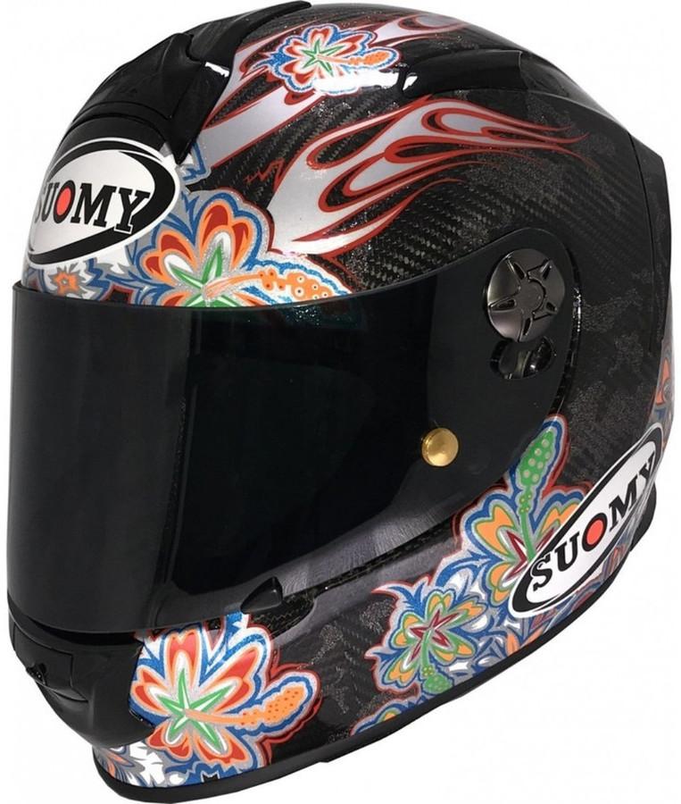 SUOMY スオーミー フルフェイスヘルメット SR-SPORT CARBON フラワー ヘルメット サイズ:S(55-56)