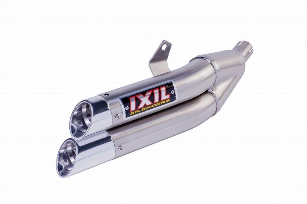 IXIL イクシル L3X-デュアルラウンドタイプ フルエキゾーストマフラー YZF-R15 M-SLAZ