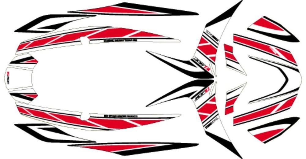 【ポイント5倍開催中!!】【クーポンが使える!】 【在庫あり】MDF エムディーエフ ステッカー・デカール 車種別グラフィックデカールキット CYGNUS X ストロボ ■コンプリートデカール(フルセット) シグナスX