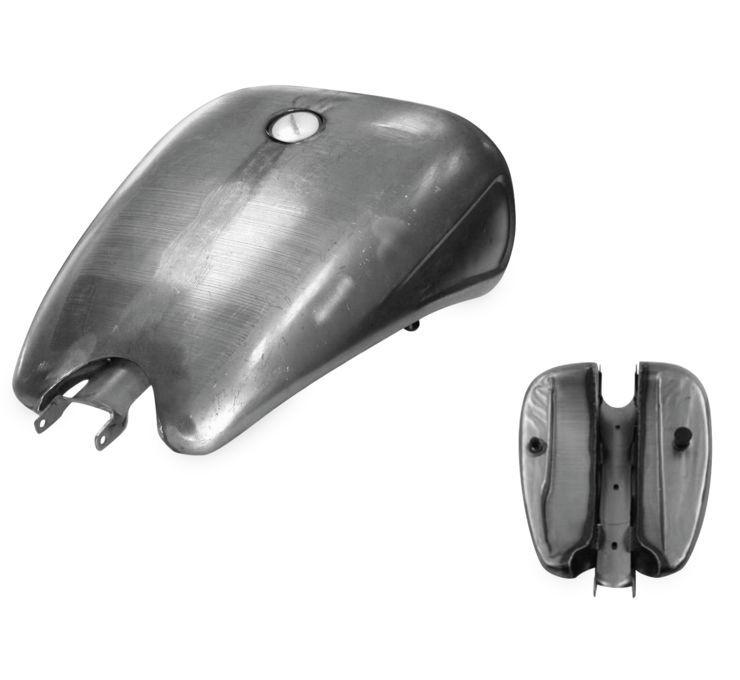Biker's Choice バイカーズチョイス ストレッチ ステンレスタンク 【Stretched Steel Tanks [482940]】 XL 04-06