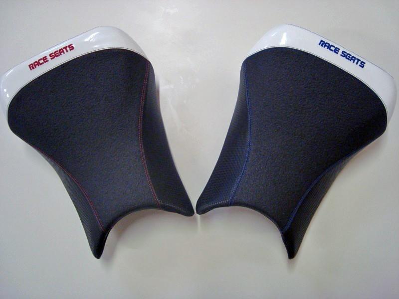 RACESEATS レースシーツ シート本体 シートASSY クリスタルライン ステッチカラー:ブルー HP4 S1000RR