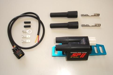 ASウオタニ AS UOTANI イグニッションコイル・ポイント・イグナイター関連 SPIIハイパワーコイルセット(2P) コイルブラケット:80