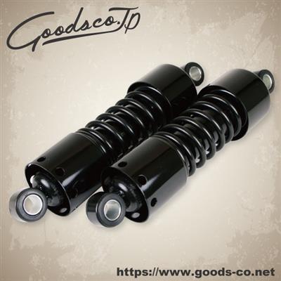 【在庫あり】GOODS グッズ リアサスペンション G-SUSPENSION265 ブラック 14-14 GB250クラブマン SR400 SR500 SRV250