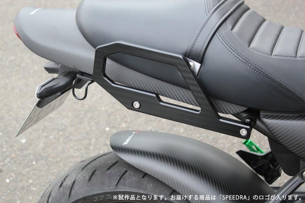 SSK:スピードラ エスエスケー:スピードラ バックレスト・グラブバー アルミ削り出しグラブバー カラー:ブラック Z900RS Z900RS CAFE