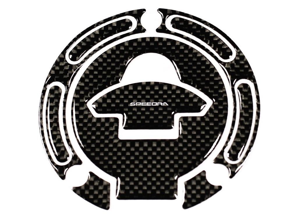 信頼 SPEEDRAスピードラ 激安通販販売 ガソリンタンクキャップ カーボンタンクキャップパッド SPEEDRA スピードラ ヤマハ YZF-R3 YAMAHA YZF-R25