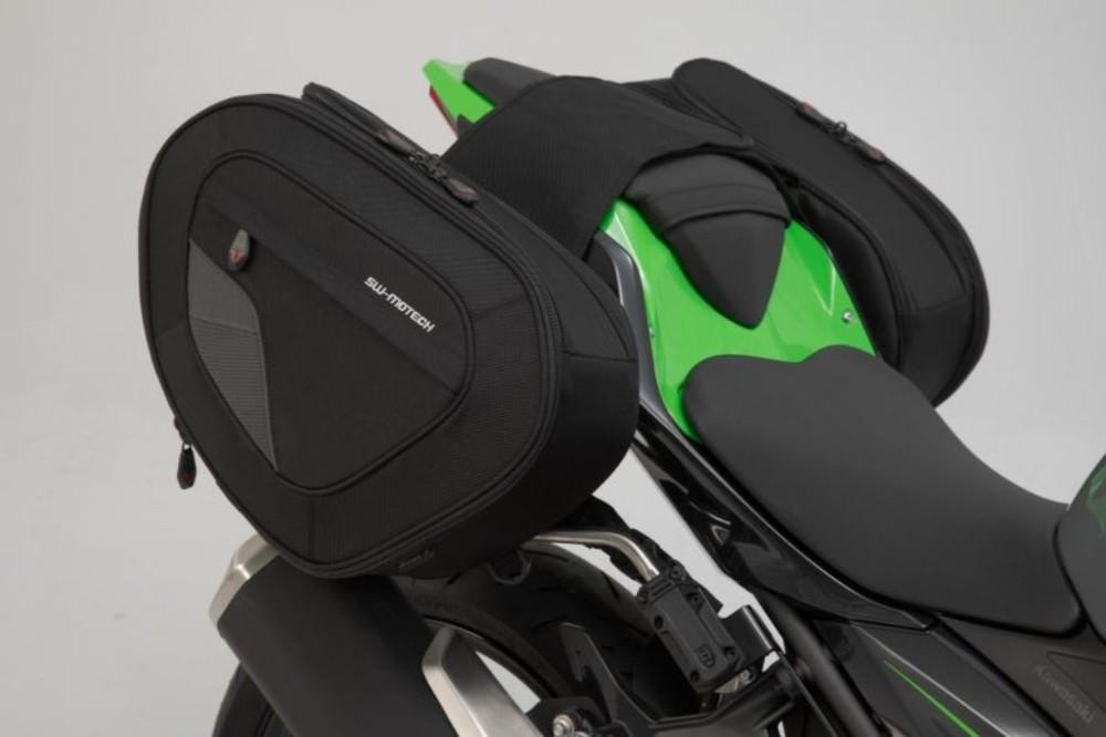 SW-MOTECH SWモテック BLAZE(ブレイズ) サドルバッグセット ハイバージョン NINJA 400 NINJA 400 ABS