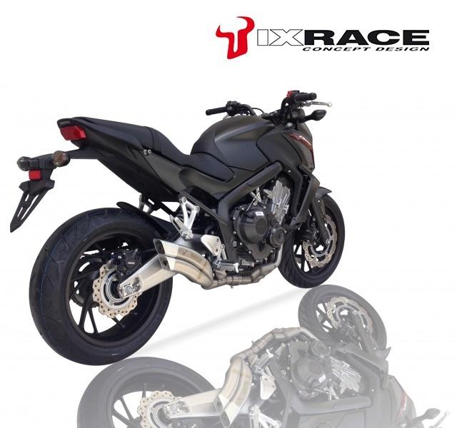 IXRACE アイエックスレース ツインアップ スリップオンマフラー CBR 650 F CB 650 F