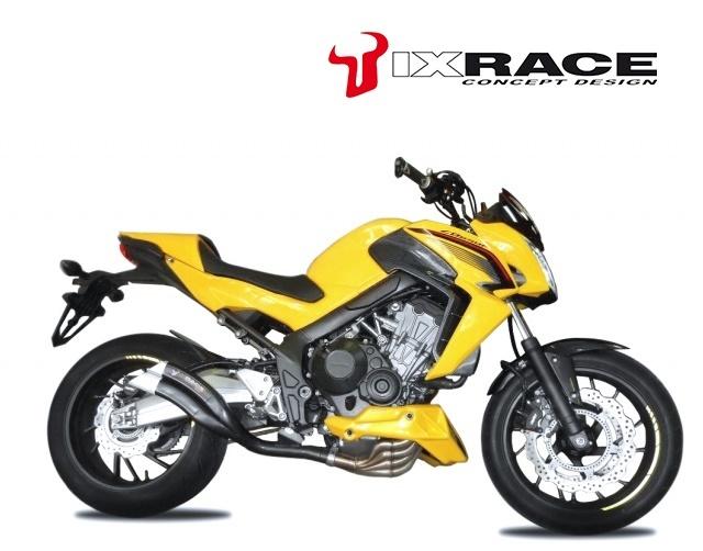 IXRACE アイエックスレース ツインアップ スリップオンマフラー CB 650 F CBR 650 F