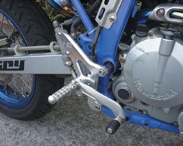 BEET ビート ハイパーバンク バックステップ Dトラッカー KLX250 250SB