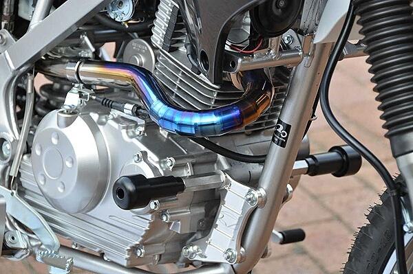 BEET ビート ガード・スライダー マシンプロテクター Dトラッカー125 KLX125