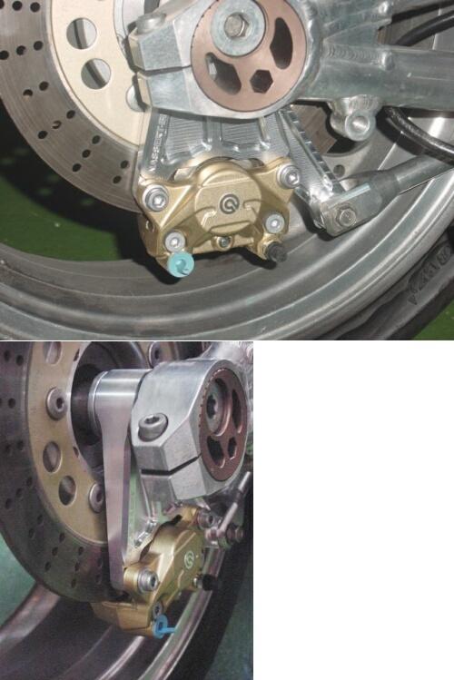 BEET ビート Rear Brembo ブレーキキャリパーセット カラー:ゴールド ZRX1200ダエグ