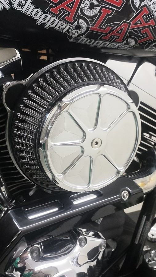 FUSION BY LA CHOPPERS フュージョンバイエルエーチョッパーズ FUSION エアクリーナー クローム FL【AIR CLEANER FUSION FL CHR [1010-1660]】