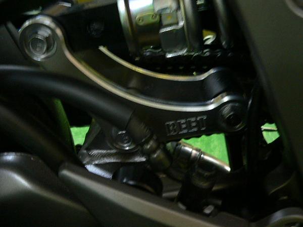 BEET ビート 車高調整関係 ローダウンリンクロッドセット Z1000 (水冷)