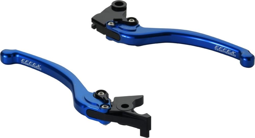 EFFEX エフェックス スムースフィットレバー カラー:ブルーアルマイト VERSYS1000[ヴェルシス] Z1000 ZX-10R ZX-12R ZX-6R ZX-6RR ZX-9R