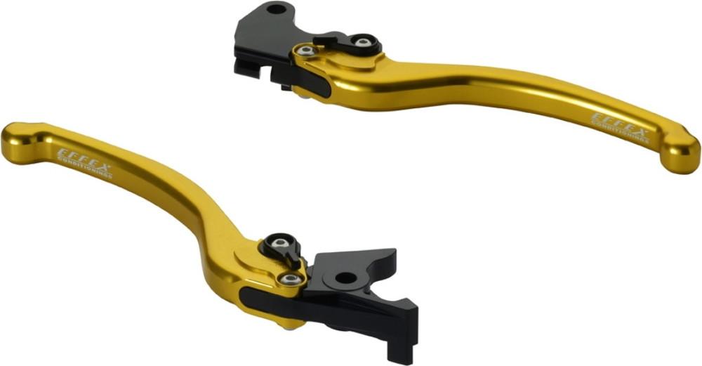 EFFEX エフェックス スムースフィットレバー カラー:ゴールドアルマイト GSX250R SV650