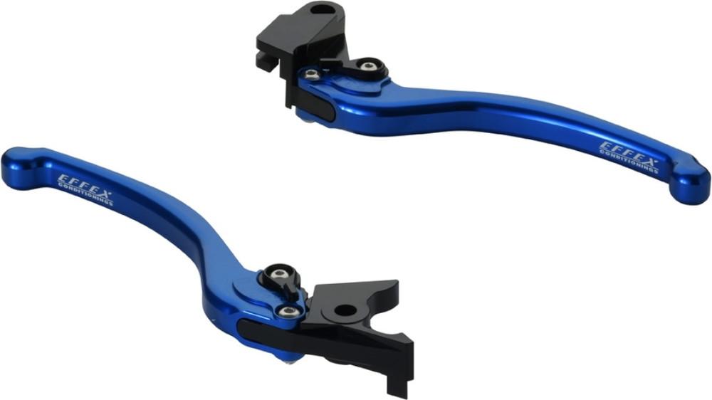 EFFEX エフェックス スムースフィットレバー カラー:ブルーアルマイト Ninja650 VERSYS1000[ヴェルシス] VERSYS650[ヴェルシス] Z650 Z900