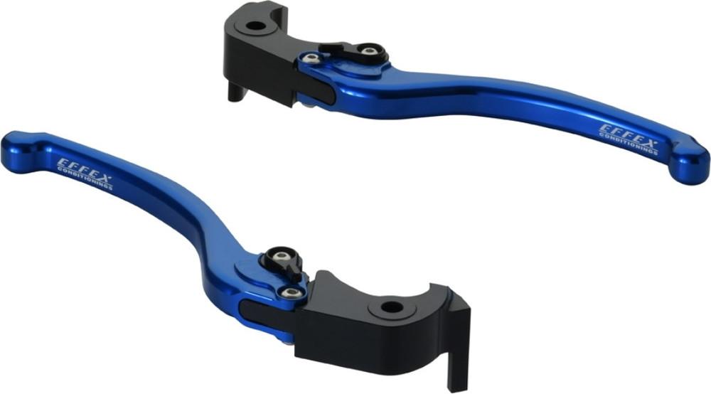 EFFEX エフェックス スムースフィットレバー カラー:ブルーアルマイト 1400GTR ZX-14R ZZR1400