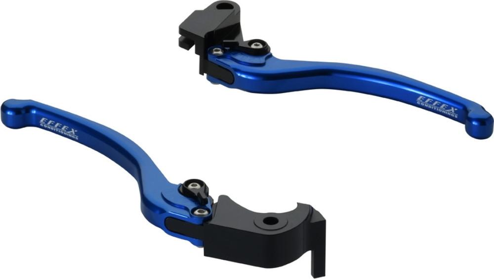 【ポイント5倍開催中!!】EFFEX エフェックス スムースフィットレバー カラー:ブルーアルマイト Ninja1000 Z1000 Z900RS ZR900C
