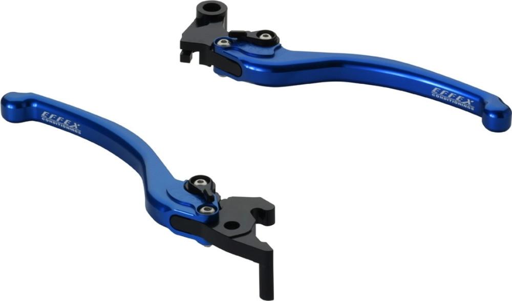 EFFEX エフェックス スムースフィットレバー カラー:ブルーアルマイト MT-03 MT-25 YZF-R25 YZF-R3