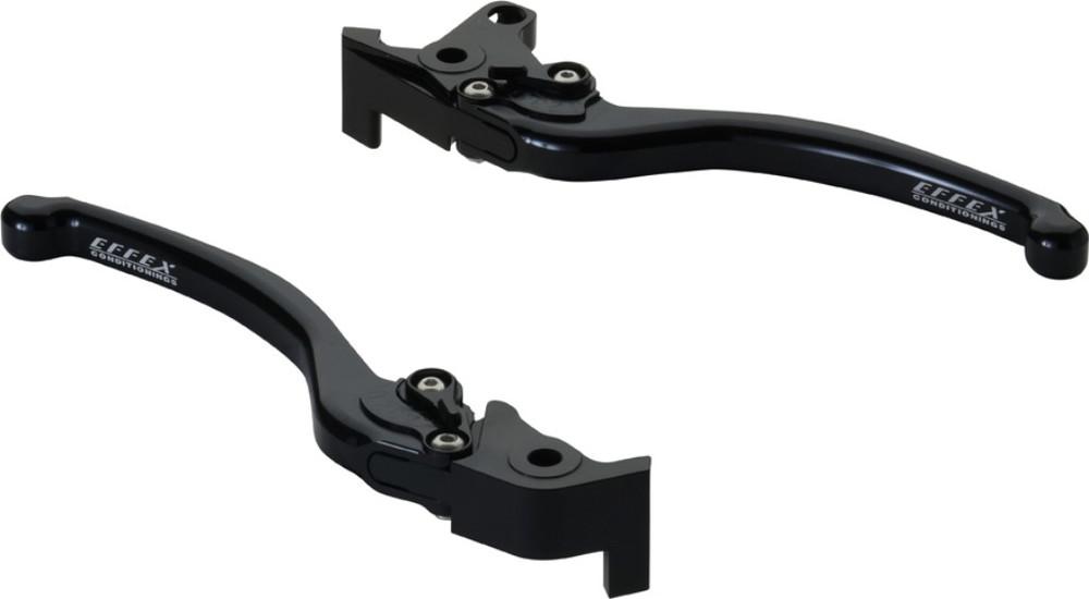 EFFEX エフェックス スムースフィットレバー カラー:ブラックアルマイト MT-01 V-MAX1700