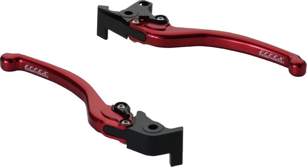 EFFEX エフェックス スムースフィットレバー カラー:レッドアルマイト MT-01 V-MAX1700