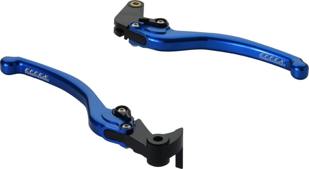 EFFEX エフェックス スムースフィットレバー カラー:ブルーアルマイト YZF-R6