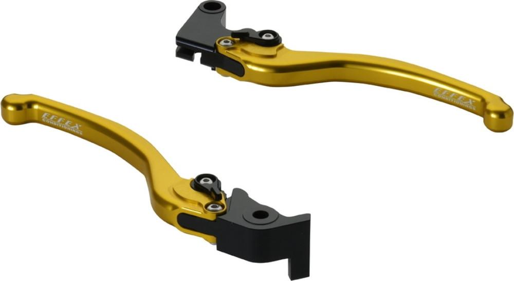 EFFEX エフェックス スムースフィットレバー カラー:ゴールドアルマイト YZF-R1