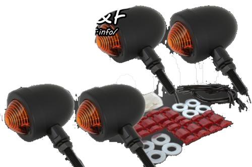 ガレージT&F スモールブレットウインカーキット 250TR