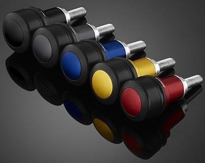 BIKERS バイカーズ ガード・スライダー フロントフェンダープロテクターセット(4個) カラー:オレンジゴールド XMAX 300