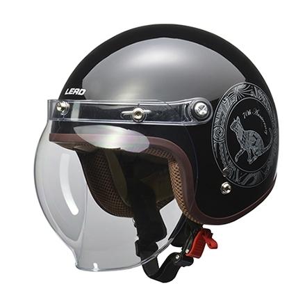 【ポイント5倍開催中!!】LEAD工業 リード工業 70th NOVIA (ノービア) スモールジェットヘルメット