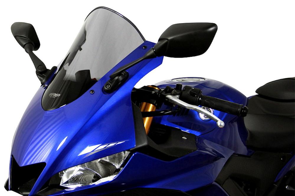 【ポイント5倍開催中!!】MRA エムアールエー スクリーン レーシング カラー:スモーク YZF-R25 YZF-R3