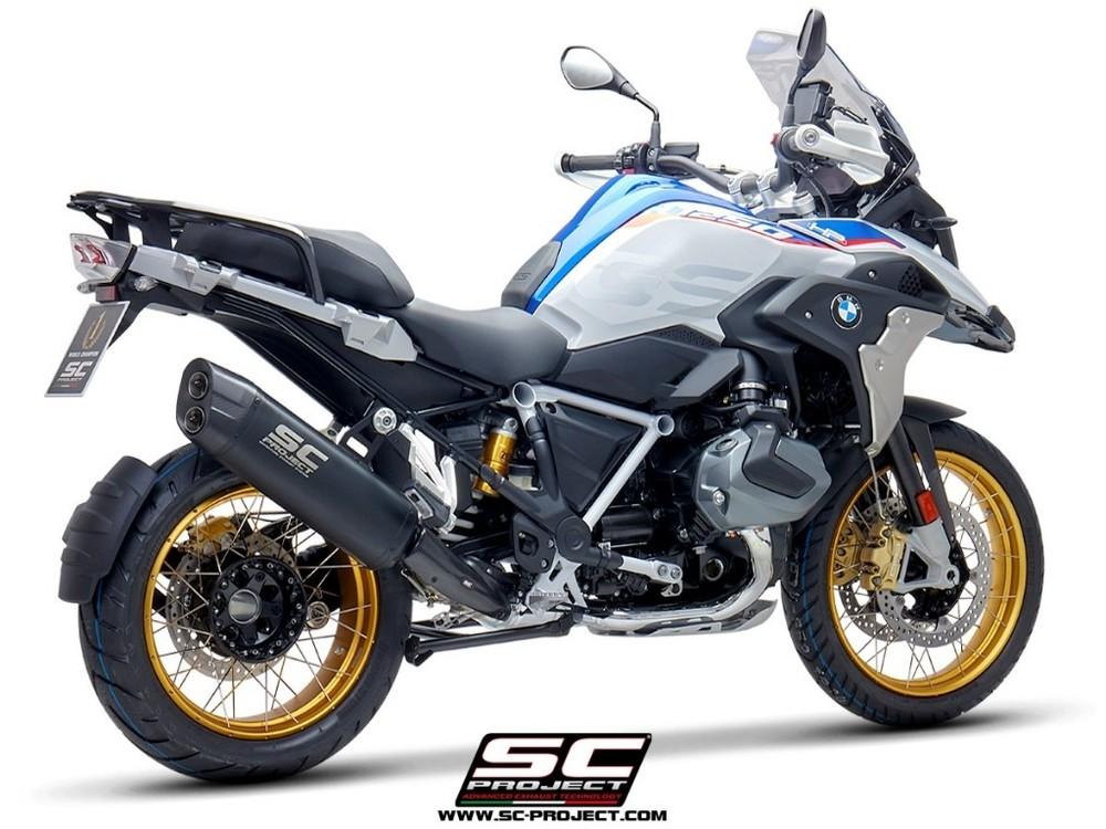 SC-PROJECT SCプロジェクト アドベンチャーエキゾースト ブラックエディション R1250 GS R1250 GS ADVENTURE