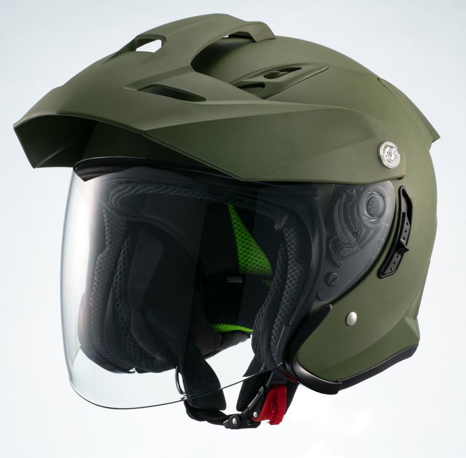 マルシン工業 Marushin MSJ1 TE-1 ジェットヘルメット サイズ:L