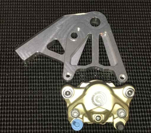 Brembo SP Rear Brake Pads For Kawasaki 2007 ER-6F A7F