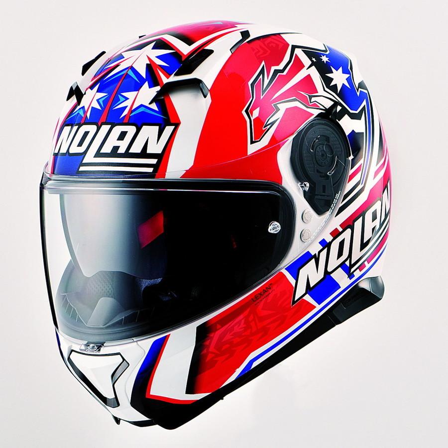 NOLAN ノーラン フルフェイスヘルメット N87 ジェミニレプリカ サイズ:M(57-58)