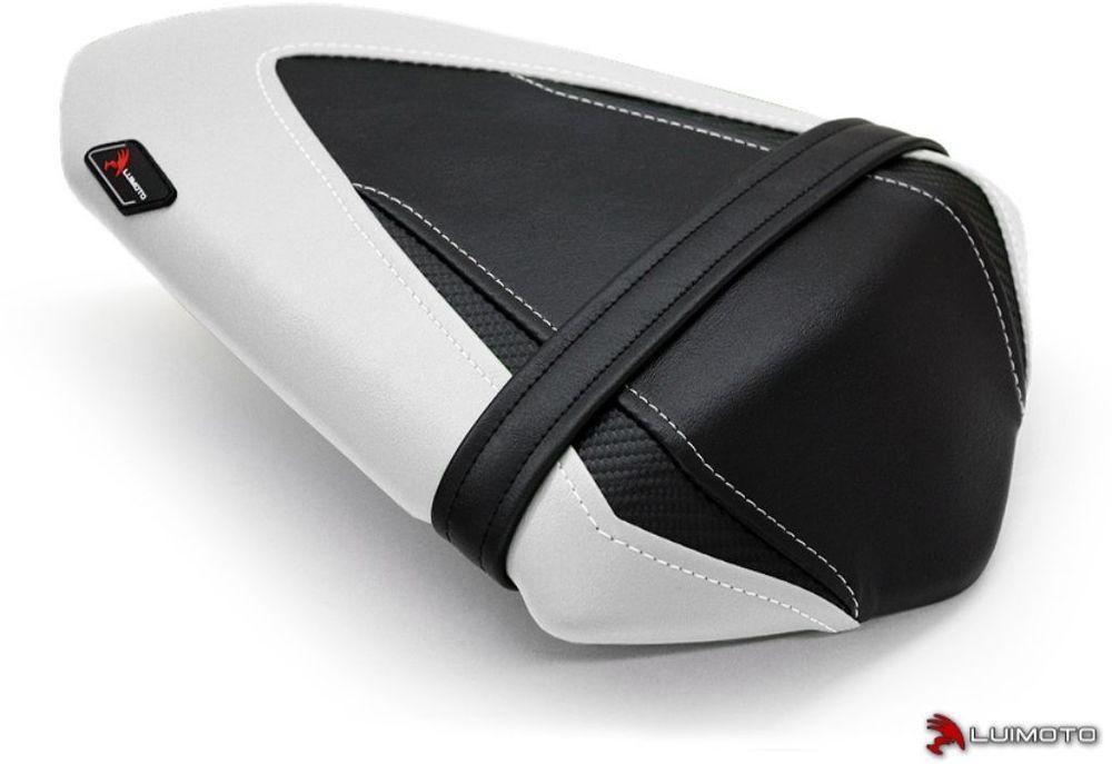 LUIMOTO ルイモト その他シートパーツ リアシートカバー カラー:ホワイト/ブラック/ホワイトステッチ/CFブラック Ninja250